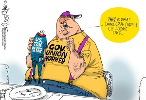 Unions pension public sector