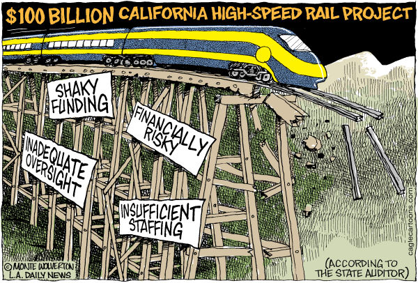 high speed rail train