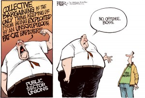 union collective bargaining public sector