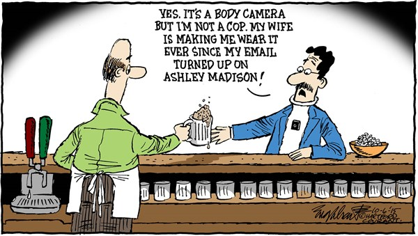 Body Camera cartoon